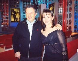 Stéphanie Rodriguez avec Michel Drucker