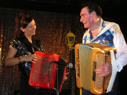 André Verchuren avec Stéphanie Rodriguez