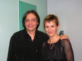 Stéphanie Rodriguez avec Alain Musichini