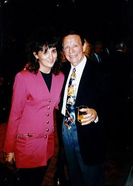 Stéphanie Rodriguez avec Maurice Larcange
