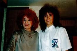 Stéphanie Rodriguez avec Yvette Horner