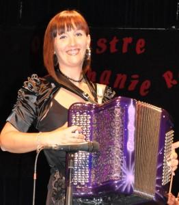 Stéphanie Rodriguez accordéoniste lyonnaise