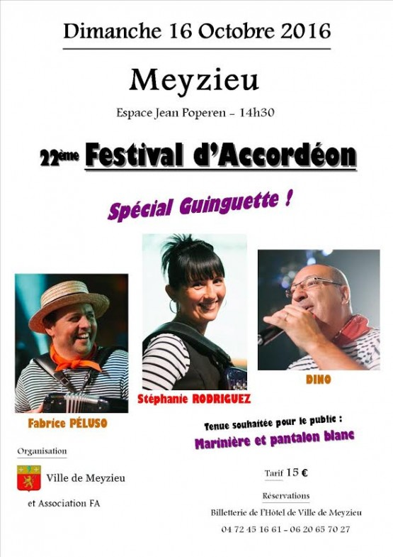 Festival d'accordéon de Mezieu 2016