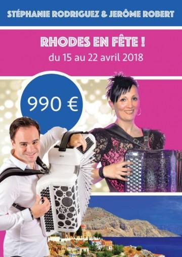Partez à Rhodes avec Stéphanie Rodriguez