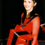 l'accordéoniste lyonnaise Stéphanie Rodriguez