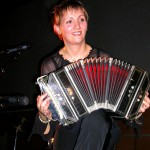 Stéphanie Rodriguez avec son bandonéon