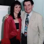 Stéphanie Rodriguez avec André Verchuren