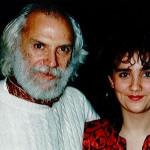 Stéphanie Rodriguez avec Georges Moustaki