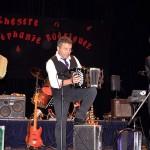 Festival d'Accordéon de Meyzieu trio bando avec Stéphanie Rodriguez Daniel Beuret et Philippe Grorod