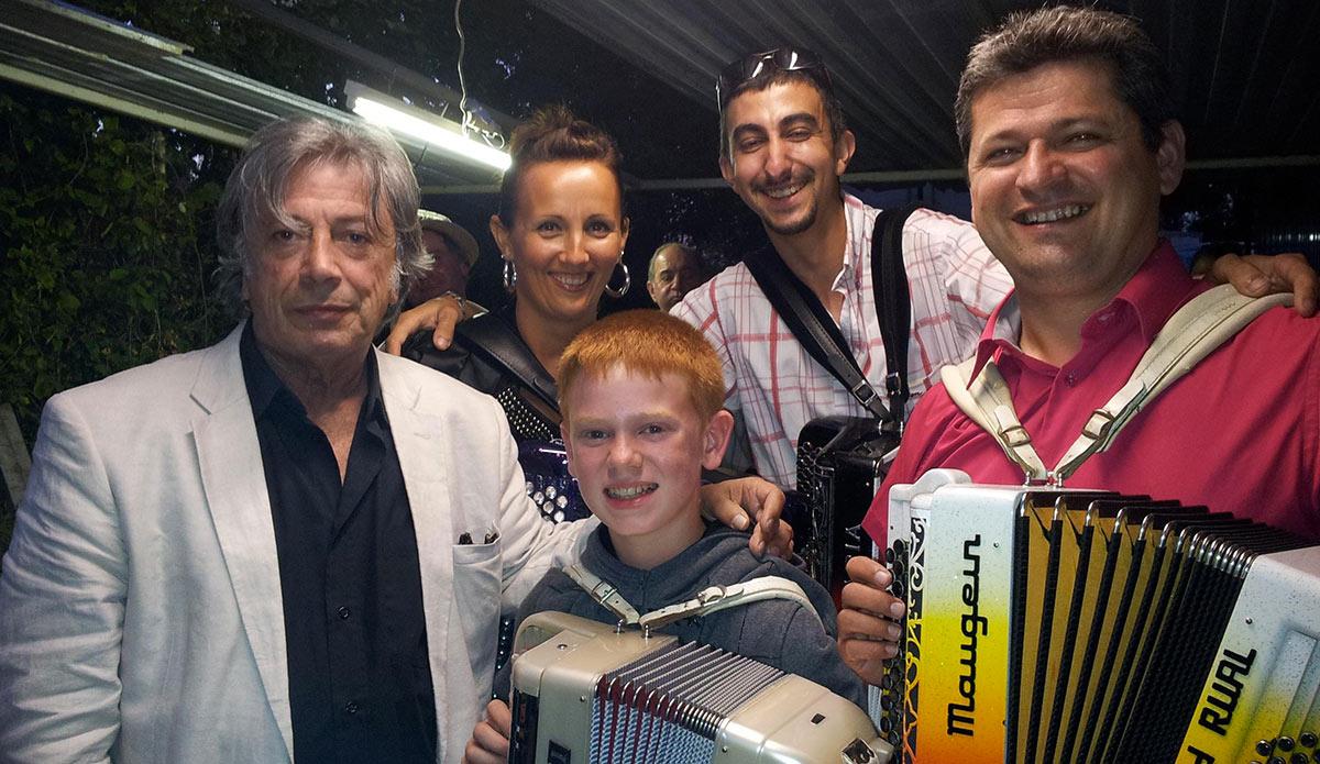 Stéphanie Rodriguez avec Hervé Villard