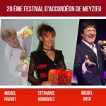 Festival d'Accordéon de Meyzieu, le 20ème anniversaire