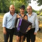 Stéphanie Rodriguez au Gala de Voulême (86) avec Denis Salesse et Sebastien Farge